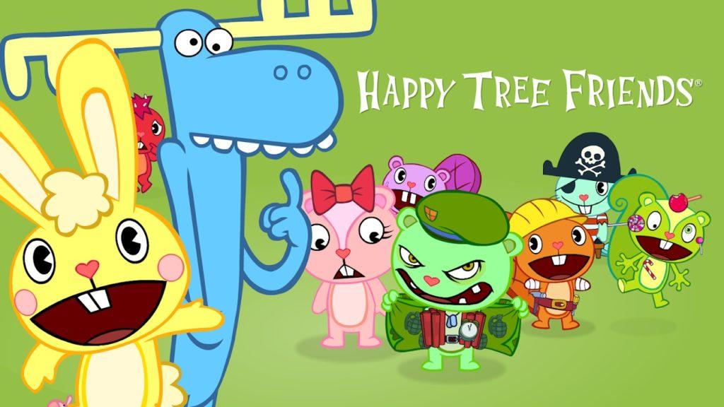 Happy tree Frien